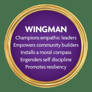 Wingman-medallion