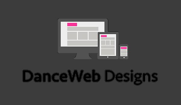 dance web design